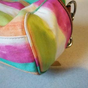 Coach Bags - Coach Multi Color Hand Shoulder Bag Purse #10383
